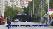 Grèce: le procès d'Aube dorée suspendu, reprise début mai