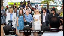 euronews reporter - Europe's big screen battle