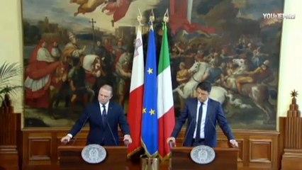 Renzi: nel Mediterraneo crisi umanitaria, comunità internazionale deve fermare nuovi schiavisti