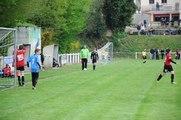 Action de jeu arrêt du gardien + belle action et but pour Malansac U13