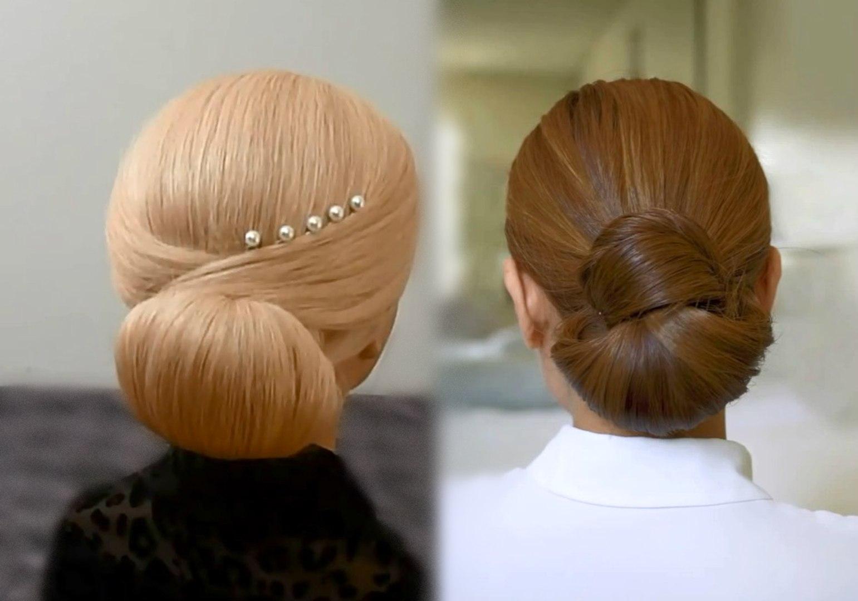 Easy and Quick Hair Bun Tutorials