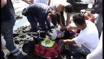 غرق شدن قایق حامل دهها مهاجر غیرقانونی در سواحل یونان