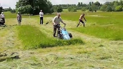 BCS mower vs scythe 2012