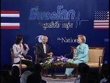 My exclusive interview with Hillary Clinton: Thai politics is as spicy as Thai food.