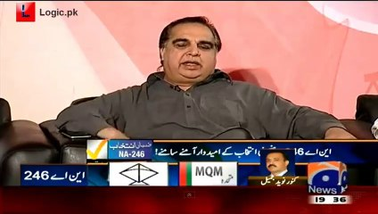Imran Ismail Perfectly Ended The Myths Created By MQM After PTI Jalsa