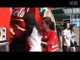 Coca Cola outdoor interactive advertising campaign