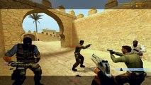 Counter-Strike Source Oynanışı - Dust2 CSS - Gameplay