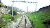 SBB Train des Vignes - voyage en cabine Puidoux-Vevey