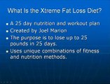 Does The Joel Marion Diet Work - Xtreme Fat Loss Diet Review
