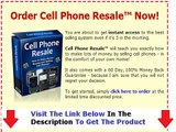 Cell Phone Resale WHY YOU MUST WATCH NOW! Bonus + Discount