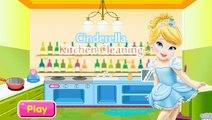 Cendrillon jeu de nettoyage de la cuisine - Cendrillon nettoyage de la cuisine dans le jeu amusant