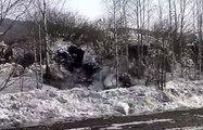 Dağlar Su Gibi Aktı! Rusya'da Felaket Gibi Olay