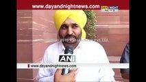 MP Bhagwant Mann's reaction over Prashant Bhushan, Yogendra Yadav expelled from AAP