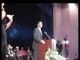 Barack Obama sings Dionne Warwick's song to Dionne Warwick