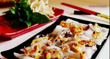 Banh cuon - Steamed rice rolls (Recipe)