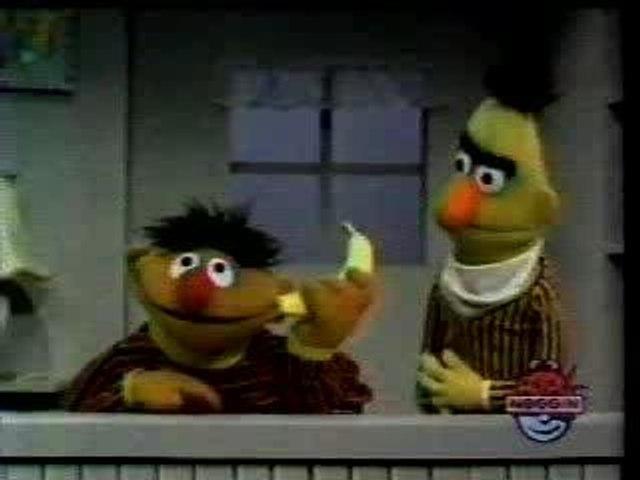 Sesame Street - Banana in your ear