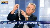 """Propos de François Hollande sur le PCF: """"j'ai un peu de mal à l'avaler"""", déclare Pierre Laurent"""