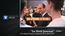 Zapping TV : un lycéen demande un iPhone 6 Plus à François Hollande