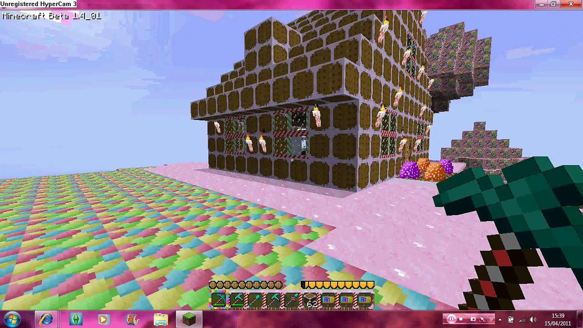 Minecraft Gingerbread House Mini Tree House Video Dailymotion