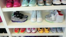 """A """"Sneak Peek"""" Inside Allyson Felix's Sneaker Closets"""