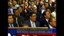 Lorenzo Mendoza (Presidente de Empresas Polar) le habla a Nicolás Maduro