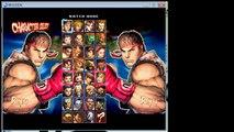Super Street Fighter IV Mugen Gameplay: Ken VS Ryu