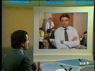 Alain Madelin et son numéro vert Tchernobyl