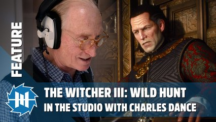 The Witcher III - In The Studio with Charles Dance