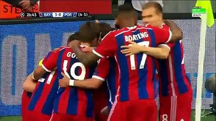 Bayern Munich 6-1 FC Porto goals and highlights 21.04.2015 champions league HD