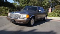 W126 Mercedes Benz 420SEL S class 560SEL 500 1 Owner Video Review