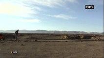 Charles Hedrich en plein désert d'Atacama