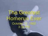 The Greatest Homerun Ever: Bill Mazeroski 1960 Walkoff Homerun (2)
