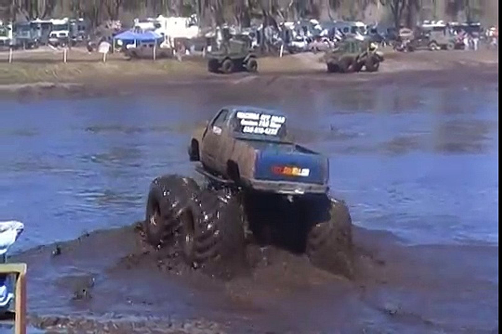 Monster Truck In The Mud Video Dailymotion