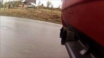 BMW E36 M3 Turbo exhaust sound test