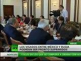 Senadores de México y Rusia analizan suprimir visas