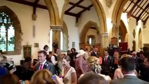 Worst wedding march performance ever. Organist forgot how to play wedding march