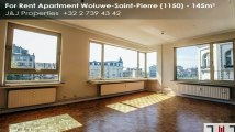 For Rent - Apartment - Woluwe-Saint-Pierre (1150) - 145m²