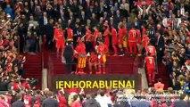Trophy Ceremony - Sevilla Europa League Champions 2015 - Europa League Final 27.05.2015