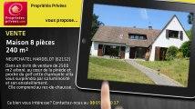 A vendre - maison - NEUFCHATEL HARDELOT (62152) - 8 pièces - 240m²