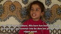 Träffa Aya, 8 år, som är på flykt från Syrien
