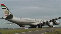Etihad Airways A340-500 Take Off 34L Sydney Airport