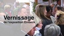 Vernissage  de l'exposition  Thiais Einbeck