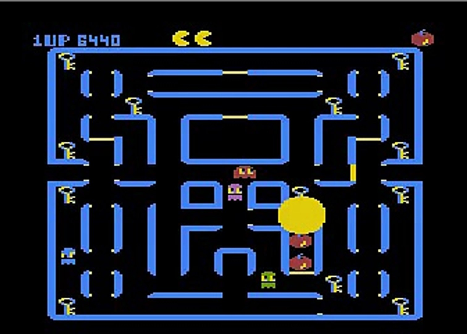 Atari's Super Pac-Man Easter Egg