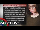 Ruby Tuason reveals more about Malampaya Fund Scam
