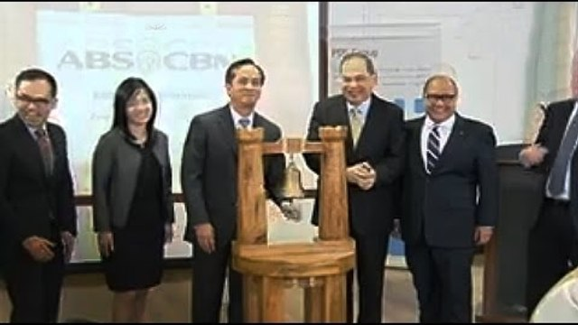 ABS-CBN lists retail bonds at PDEX
