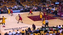 Kyrie Irving Layup And-One _ Hawks vs Cavaliers _ Game 4 _ May 26, 2015 _ 2015 NBA Playoffs
