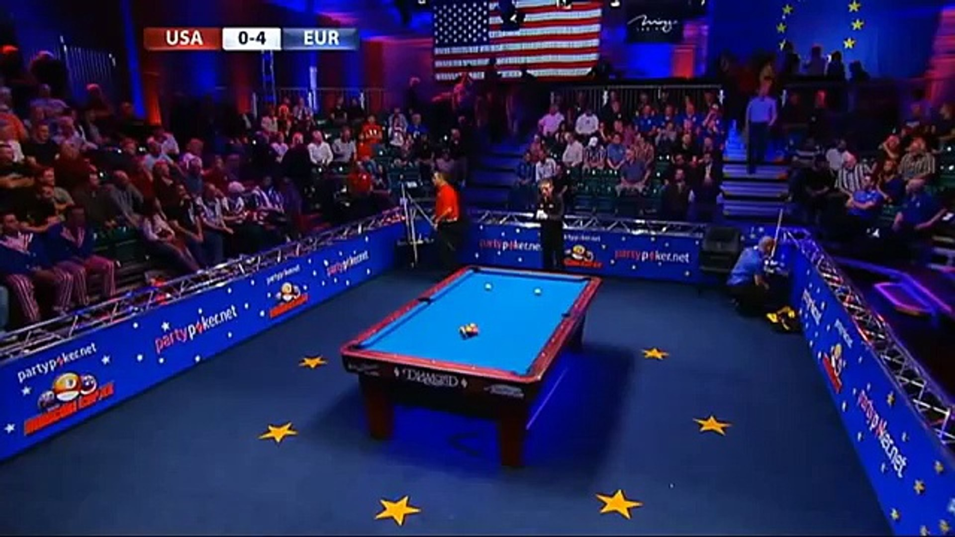 Match 5. Morris - Appleton. Day 1. Mosconi Cup 2013. 1/4 - video ...