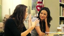 """Troian Bellisario (""""Spencer"""") and Shay Mitchell (""""Emily"""") Interview - Pretty Little Liars"""
