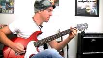 E Minor Blues Riff - Easy Beginners Lead Guitar Soloing Lick - Guitar Lesson