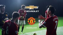 Crossbar Challenge: Man Utd Players #Playfor Bragging Rights - #AskManUtd | Chevrolet FC